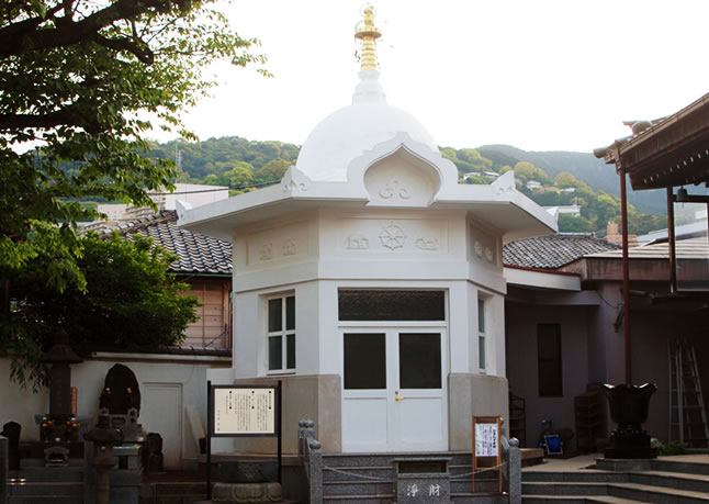 仏舎利奉安殿